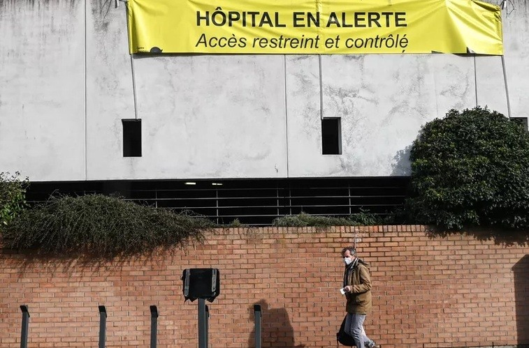 La situación se deteriora en Francia por la explosión de casos: imponen restricciones en Dunkerke