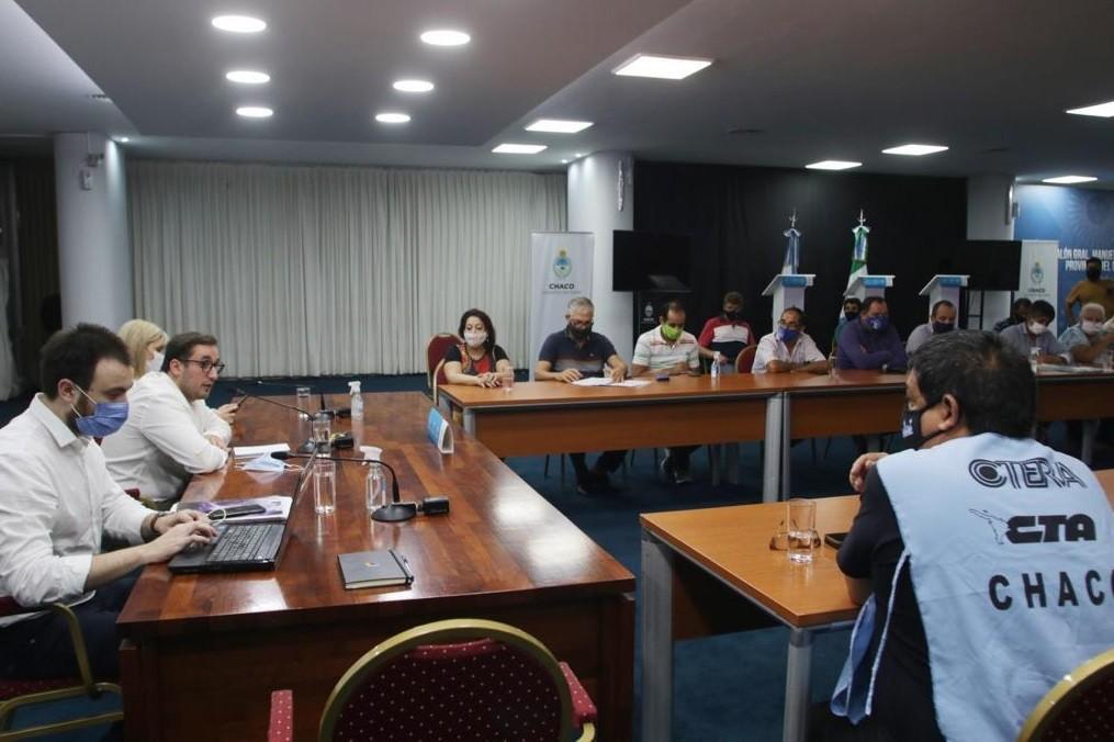 Reunión con docentes: el Gobierno elevó una propuesta y ratificó que el diálogo sigue abierto