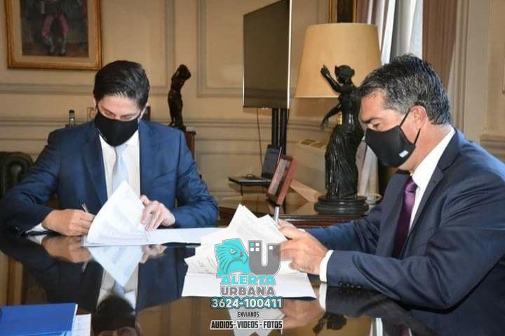 Capitanich se reunió con el Ministro de Educación de la Nación