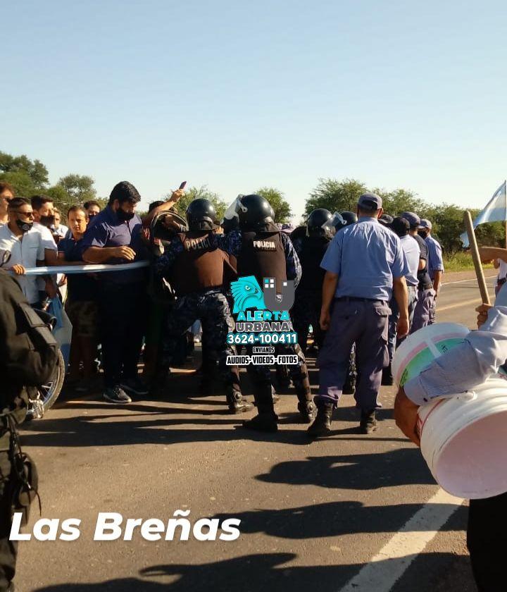 Las Breñas: Apelamos al gobernador  para solucionar este conflicto