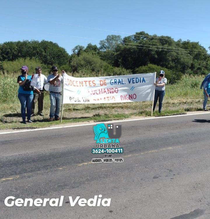 General  Vedia: ya agotamos todos los medios de negociación