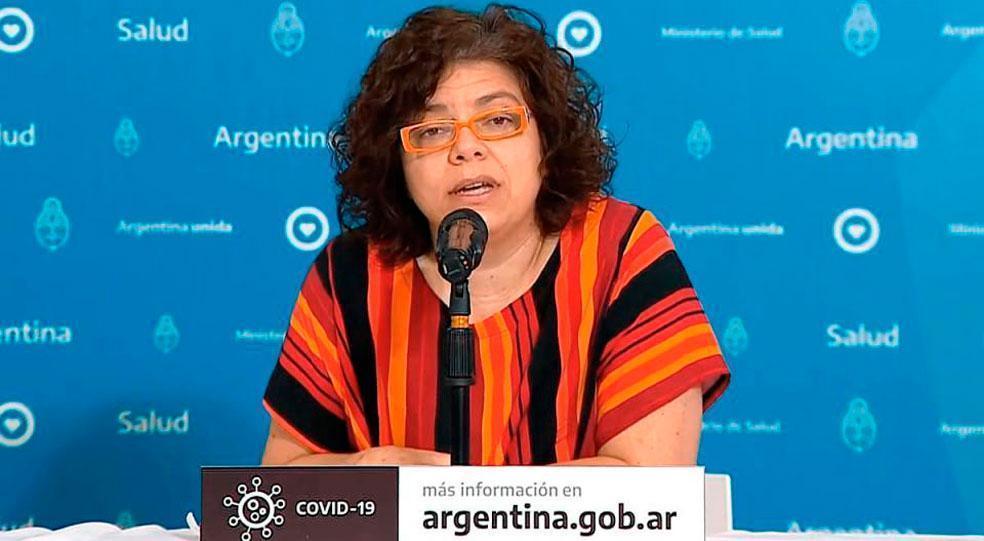 La ministra de Salud de la Nación se contagió de coronavirus