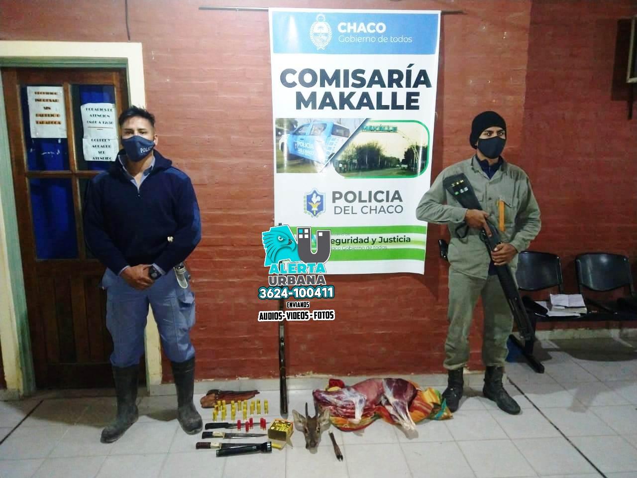 Makalle: fueron demorados cuando estaban cazando animales de forma ilegal