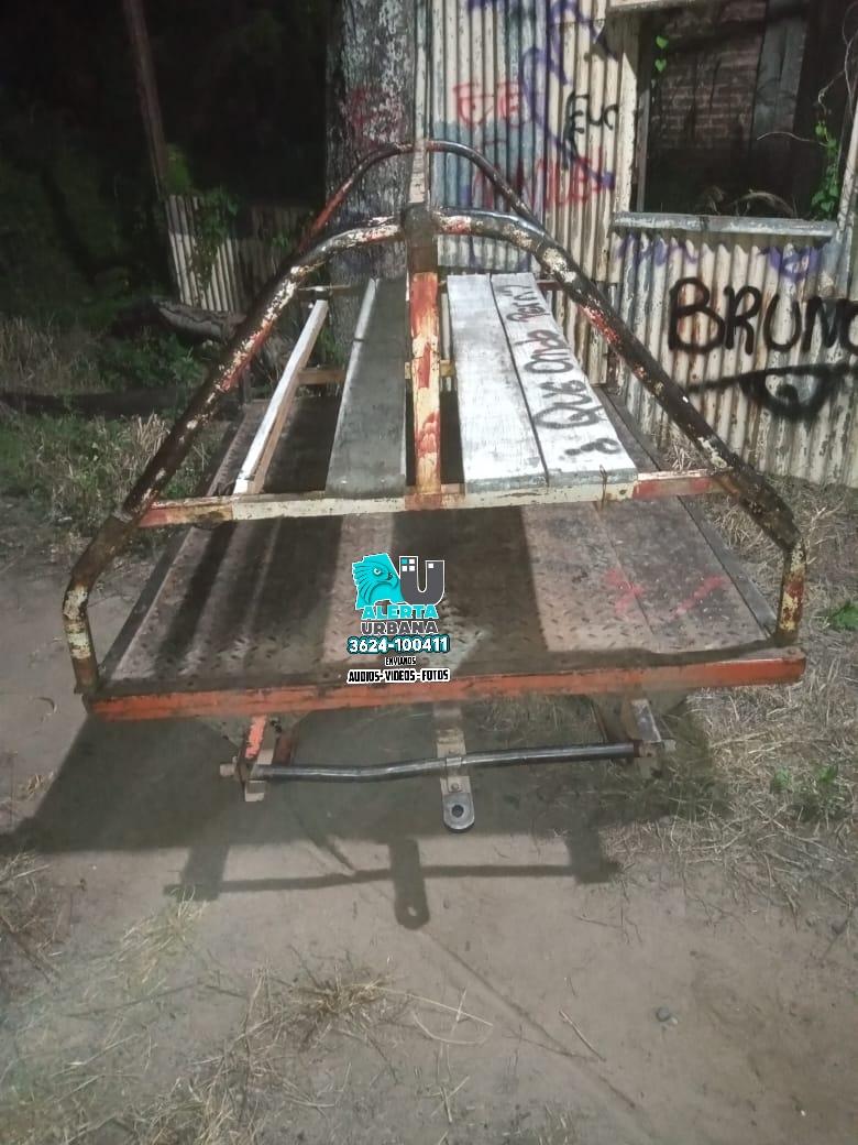 Terminaron presos al intentar llevarse un tráiler del Belgrano cargas