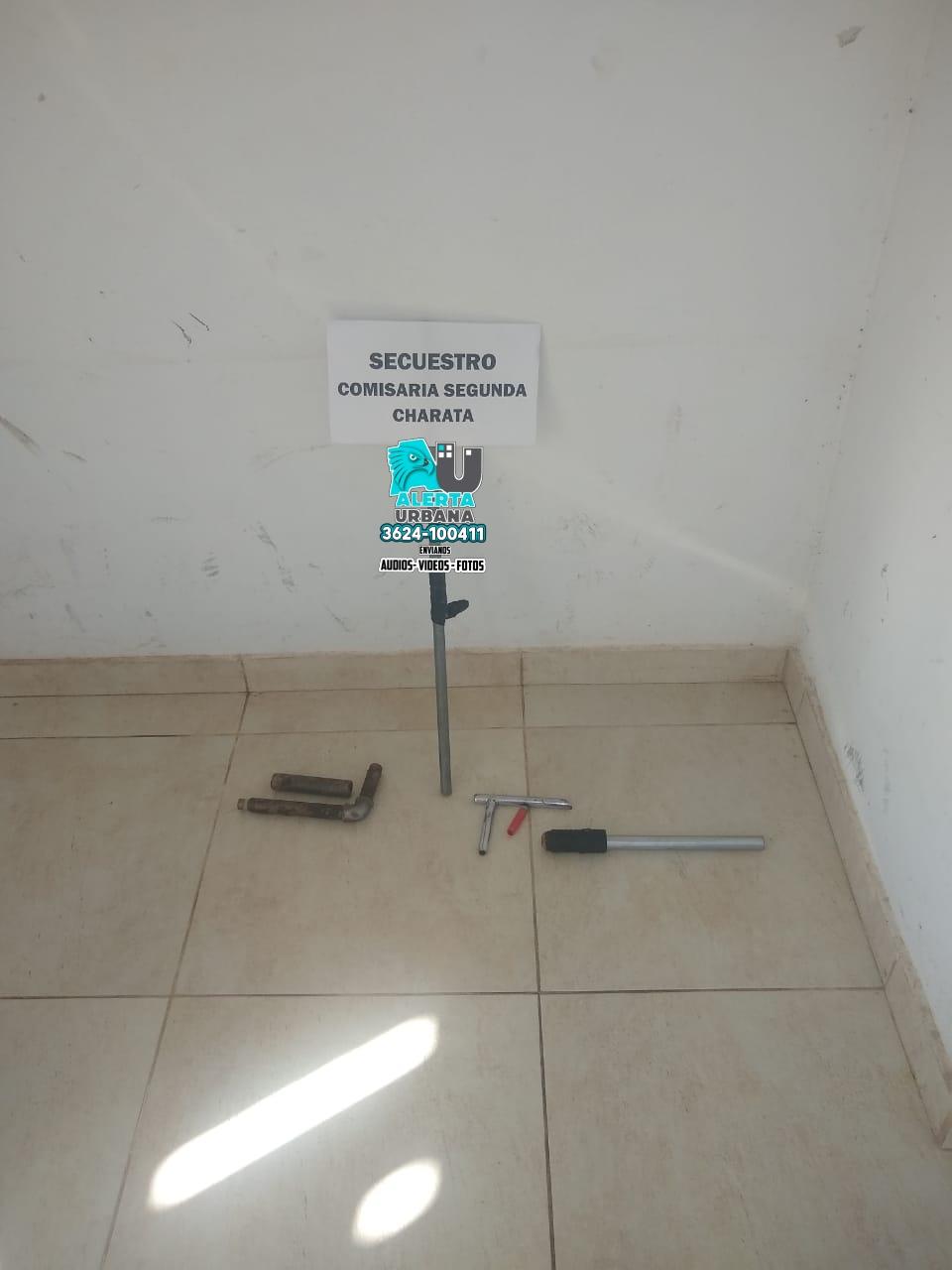 Charata: secuestraron dos armas de fuego en un desorden familiar
