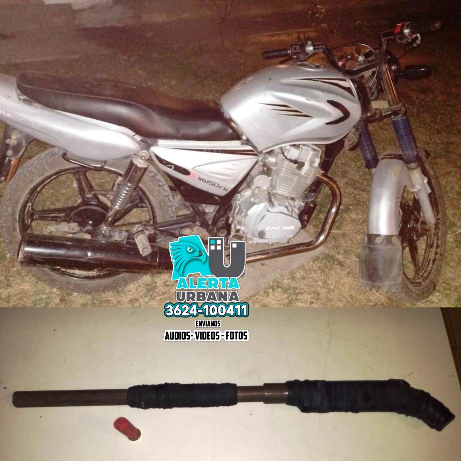 Quitilipi: tenían un arma y estaban ocasionando desorden