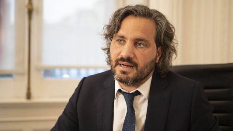 Santiago Cafiero dio negativo en el test por coronavirus pero igualmente no estará en la apertura de sesiones del Congreso