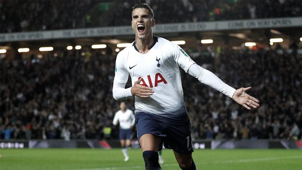 Tottenham, con el ingreso de Lamela, volvió al triunfo con goleada ante Burnley