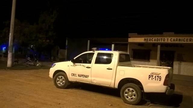 Napenay: policía herido de muerte con arma blanca