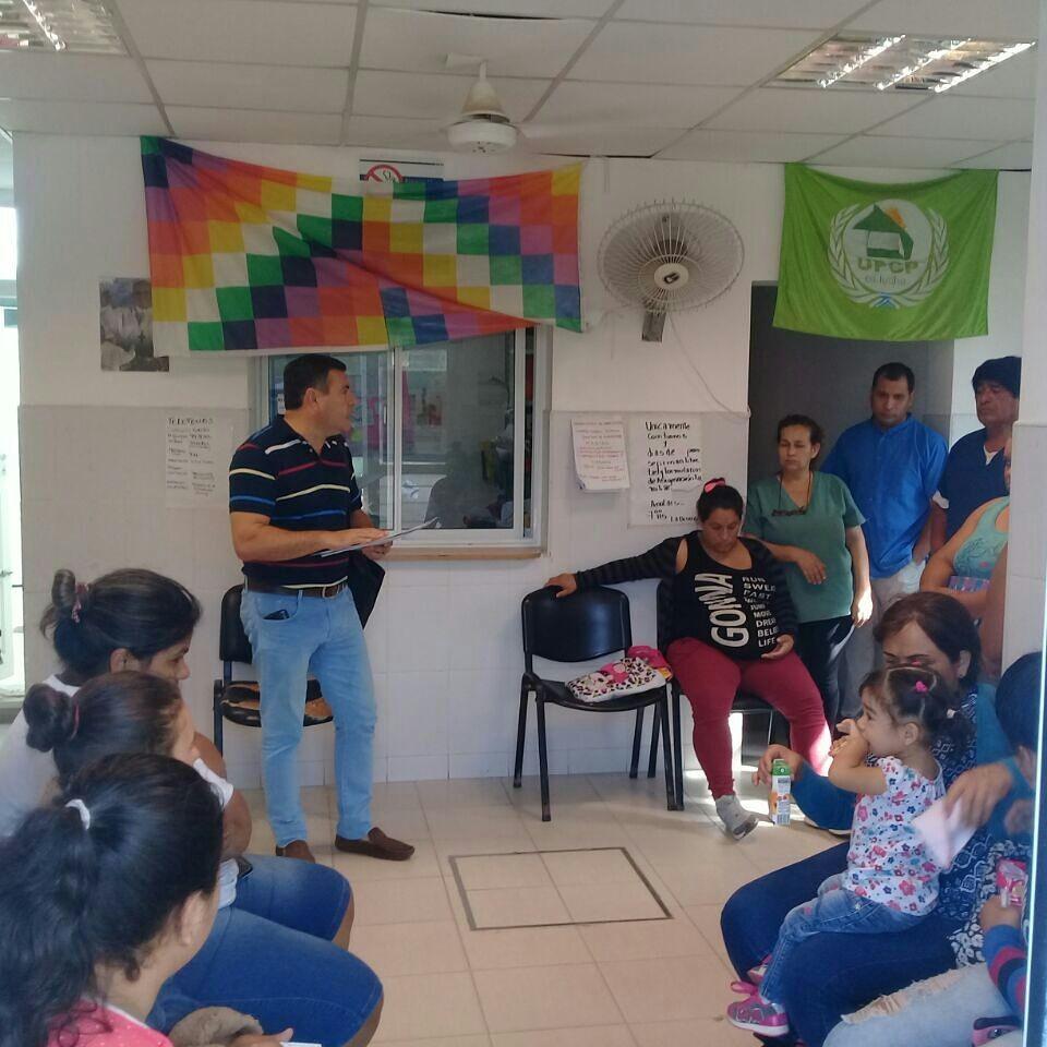 Aradas acompaña reclamo de vecinos del Barrio San Antonio