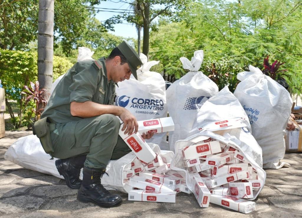 Gendarmería Nacional decomiso mercadería ilegal por más de 5 millones de pesos