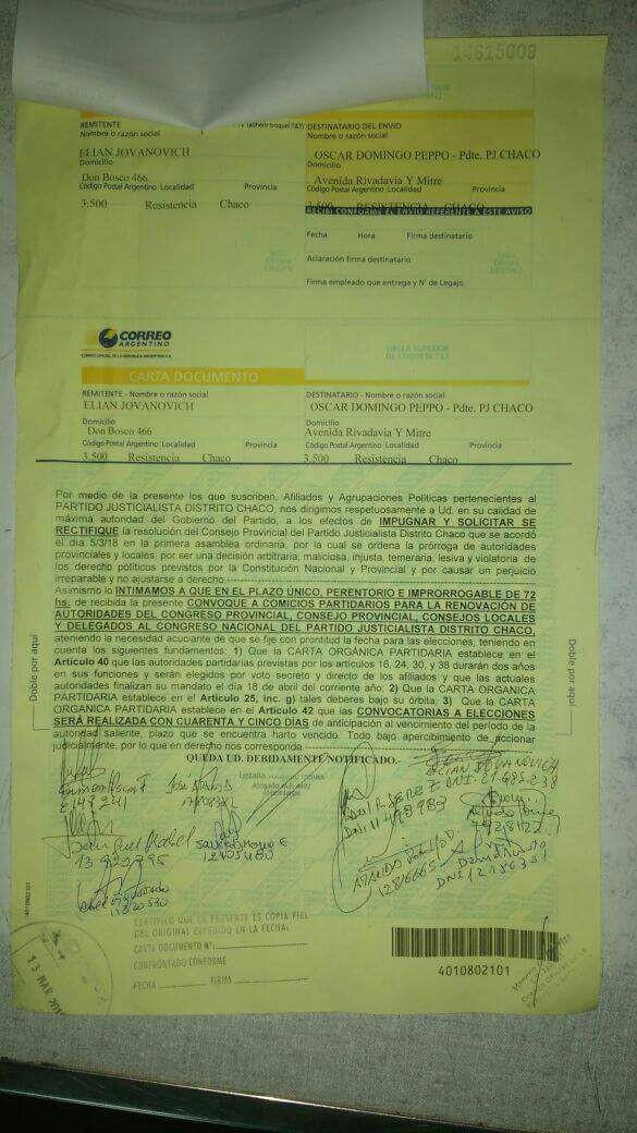 Interna en el PJ: Solicitan urgente renovación de autoridades