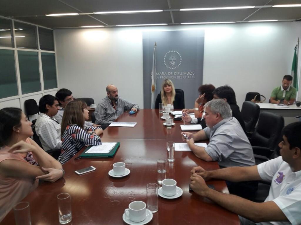 La Diputada Spoljaric convocó audiencia a Graciela Aranda y beneficiarios de terrenos de Sáenz Peña