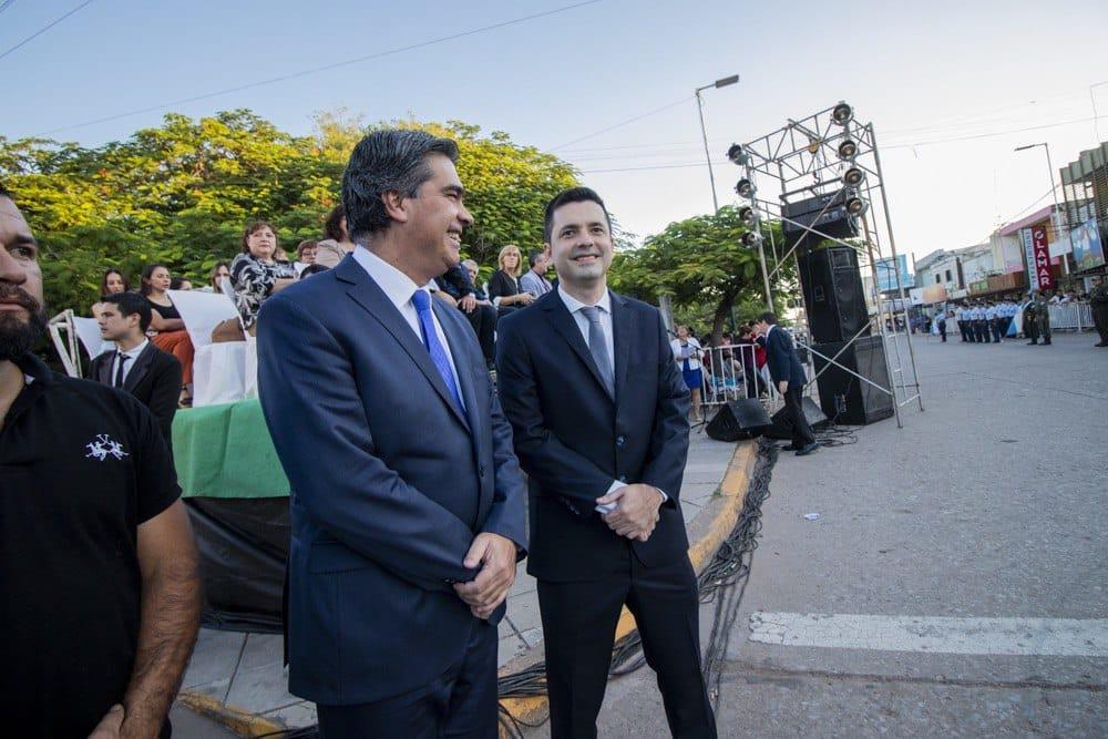 Capitanich en el aniversario de Sáenz Peña:
