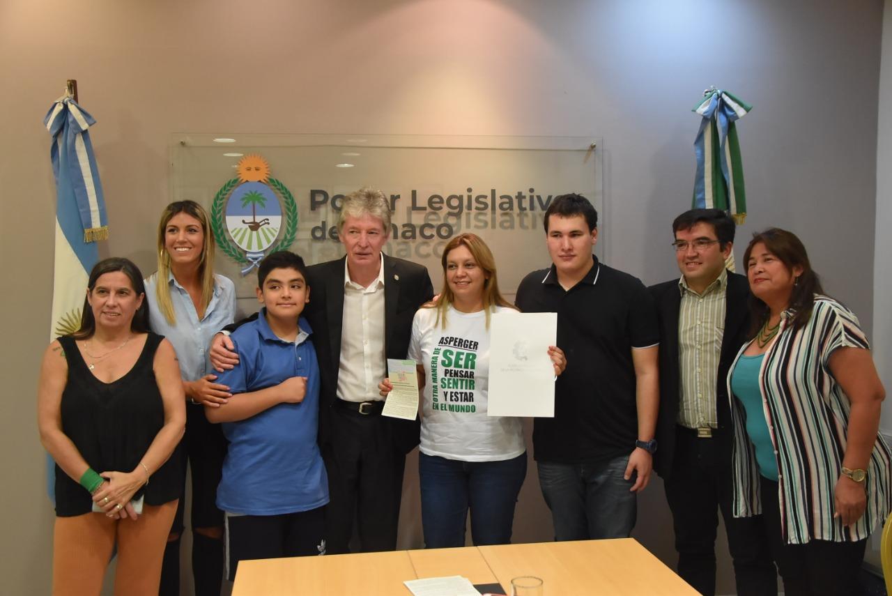 El Poder Legislativo promueve prácticas de inclusión de personas con síndrome de Asperger