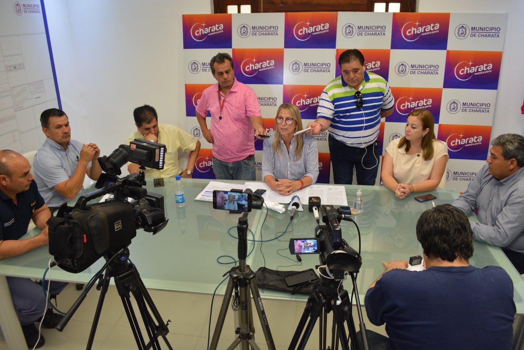 Charata: Chomiak anuncio medidas para prevenir Coronavirus en la localidad