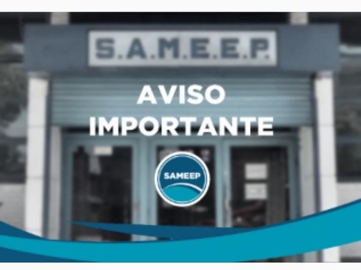 SAMEEP: las cuadrillas asistirán urgencias para garantizar el servicio a la población