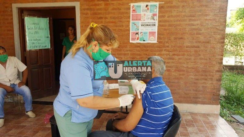 Salud: en los 300 Centros Vacunatorios del Chaco comenzó la Campaña Antigripal 2020