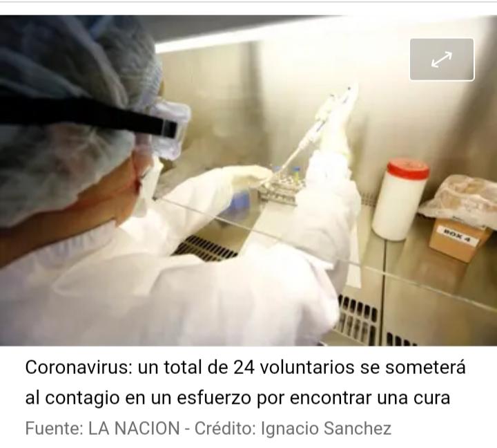 Coronavirus: voluntarios cobrarán $300.000 por infectarse con la enfermedad