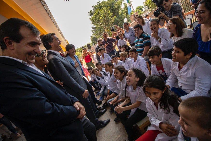 """Capitanich inauguró el Jardin de Infantes N° 178: """"Una mejor educación permite acceder a mejores salarios, mas calidad de vida y mayor bienestar"""""""