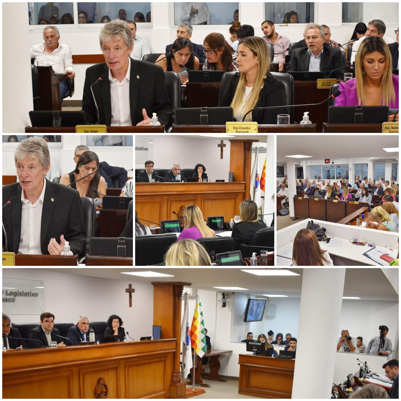 Sesión Ordinaria Nº 2 Aprobaron la licencia excepcional por coronavirus para el sector público