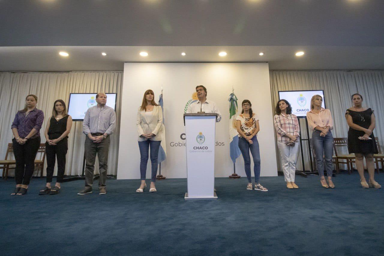 Capitanich anunció suspensión de clases, plataforma educativa virtual y 7mo caso de Coronavirus en la provincia