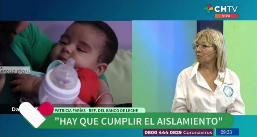 Coronavirus: Salud insta a no interrumpir la lactancia materna