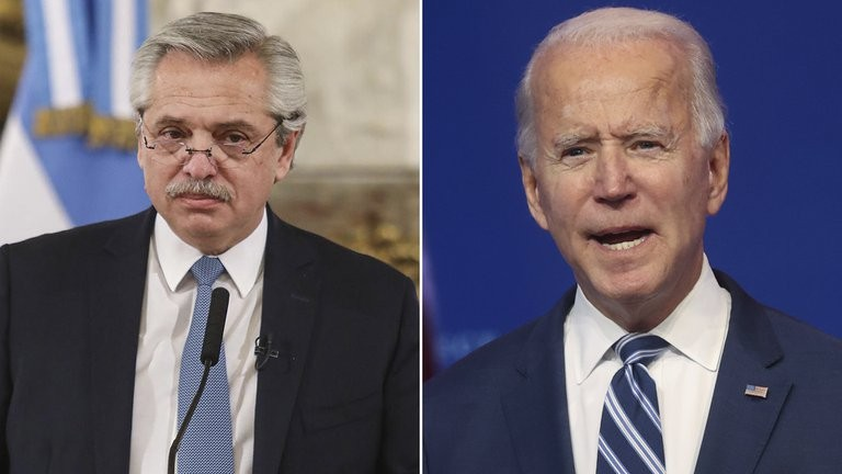 Alberto Fernández se acerca a Joe Biden de la mano de la lucha contra el cambio climático pero se aleja cuando cuestiona a la OEA
