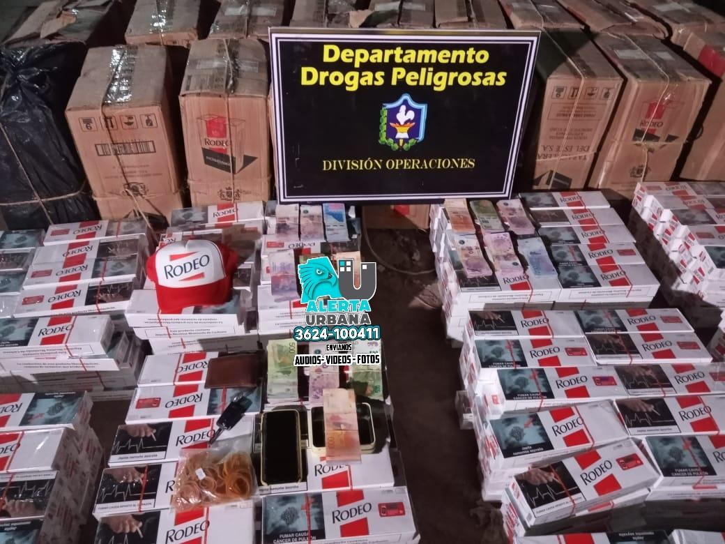 Secuestraron 24.000 atados de cigarrillo, con un valor aproximado de $3.500.000.00