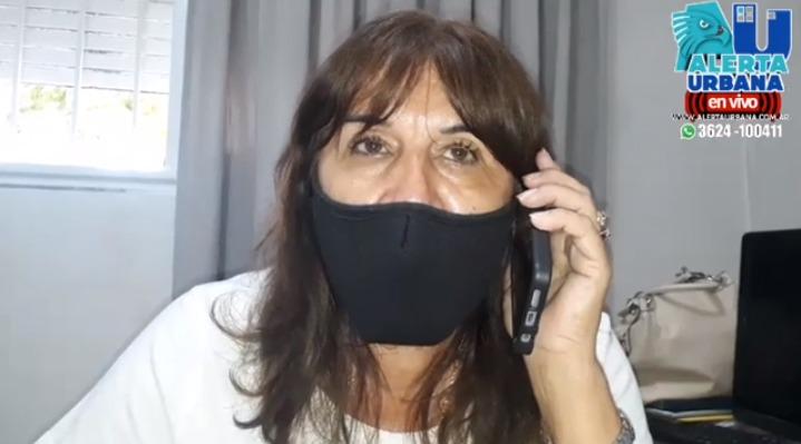 """Zulema Coria: """"no somos vacunados VIP"""""""