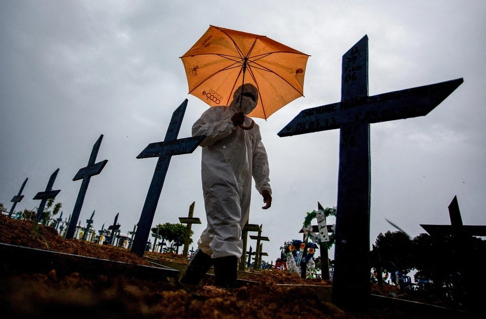 Con pandemia y sin plan, Brasil vive un momento crítico