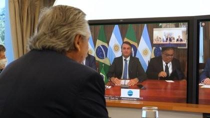 Jair Bolsonaro respaldó las negociaciones de Argentina con el FMI y confirmó que se reunirá con Alberto Fernández en Buenos Aires