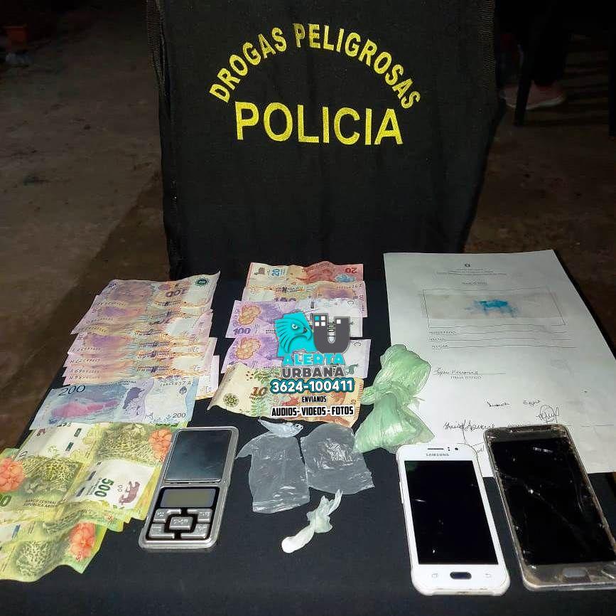 San Martín: desbaratan un kiosco de venta de droga
