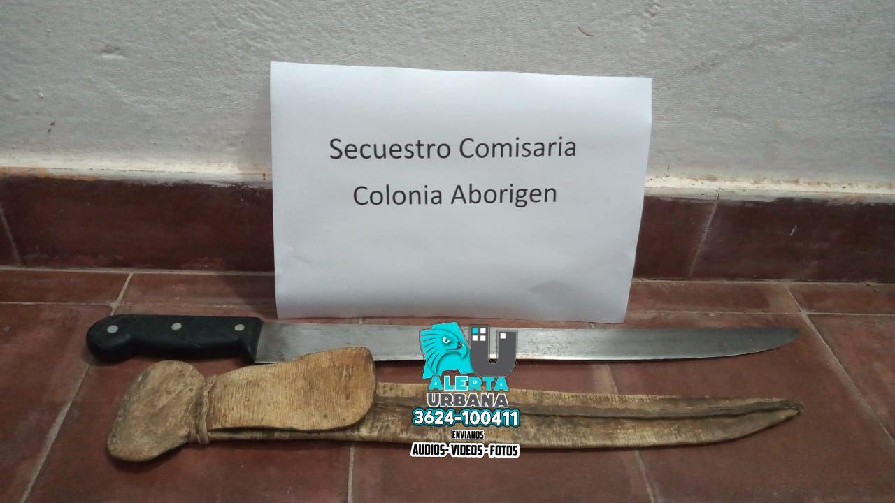 Colonia Aborigen: a mano armada intentó robar a una mujer