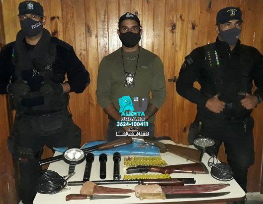 Basail: demoran a un hombre con elementos de caza