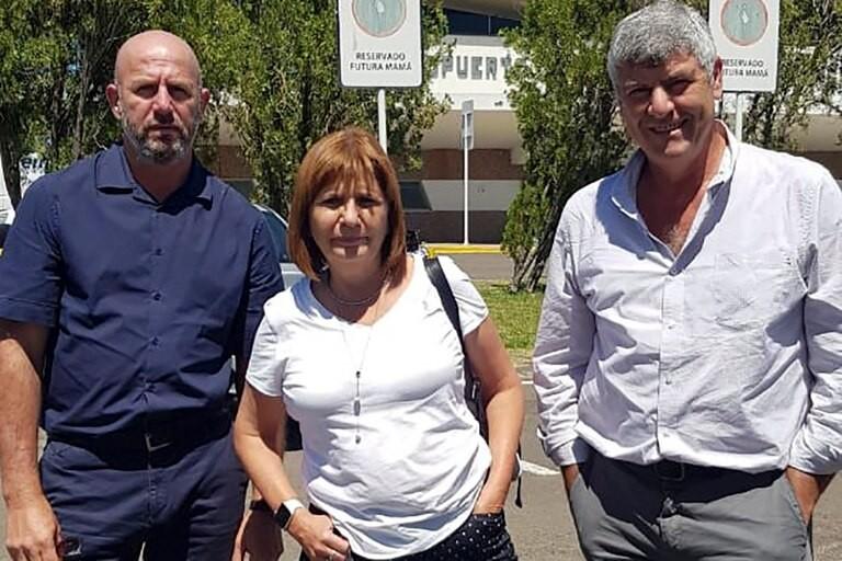 """Patricia Bullrich viajó a Formosa: """"Para el feudo de Insfrán somos extranjeros"""""""