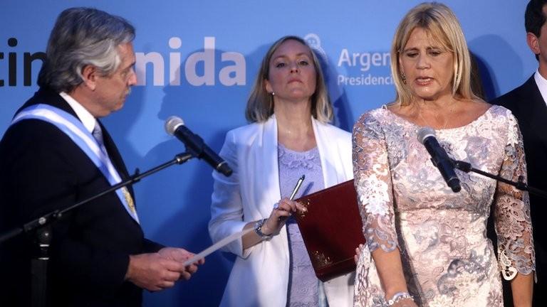 Alberto Fernández sostiene a Losardo como ministra de Justicia y compartirán un acto por el Día de la Mujer