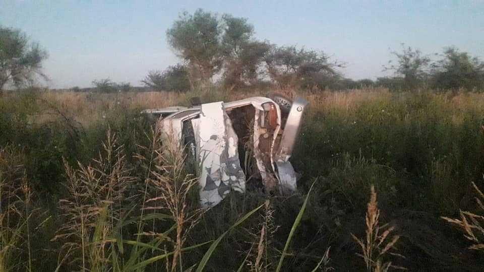 Murió un hombre de 33 años tras un siniestro cerca de Quitilipi