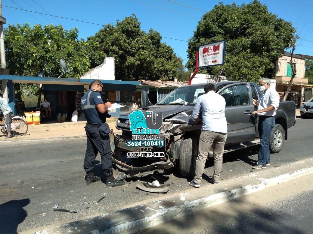 El Ministro de Salud Pública de Corrientes se descompensó y chocó una camioneta