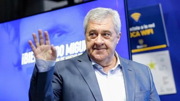 Internaron al presidente de Boca, Jorge Ameal