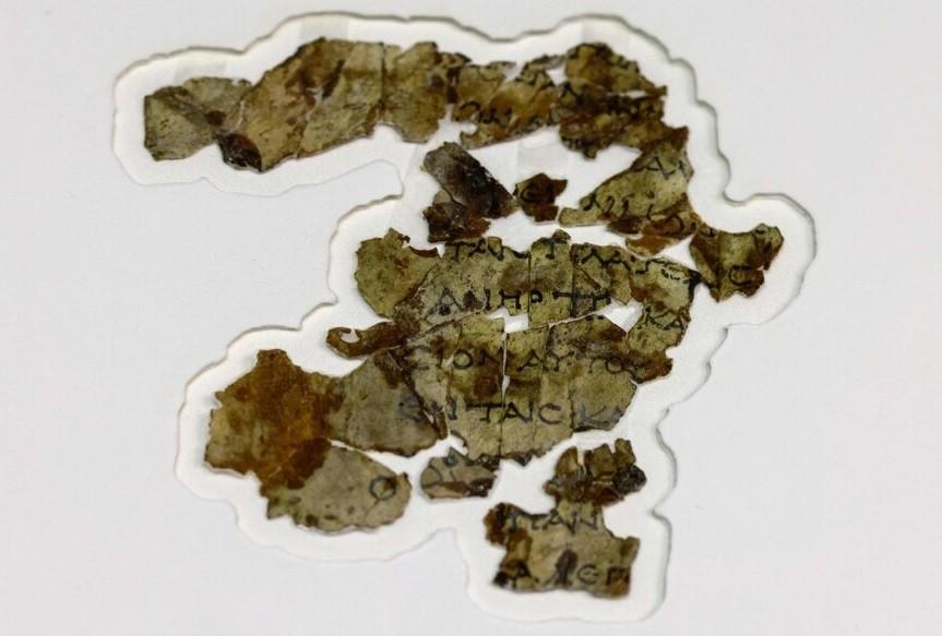 Hazaña arqueológica: hallan un texto biblíco de 2000 años de antigüedad en el Mar Muerto