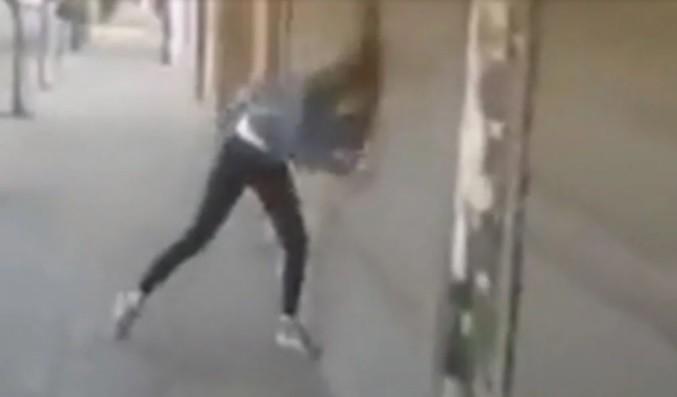 El descargo de la chica que golpeó su cabeza para acusar al novio de violento