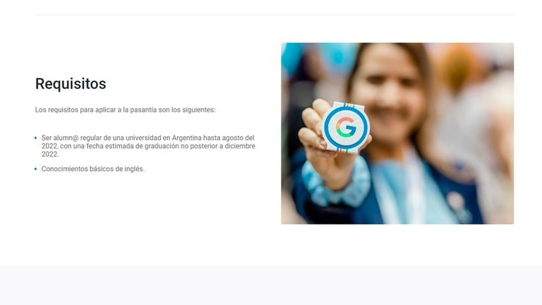 Cómo anotarse en el programa de pasantías de Google en la Argentina