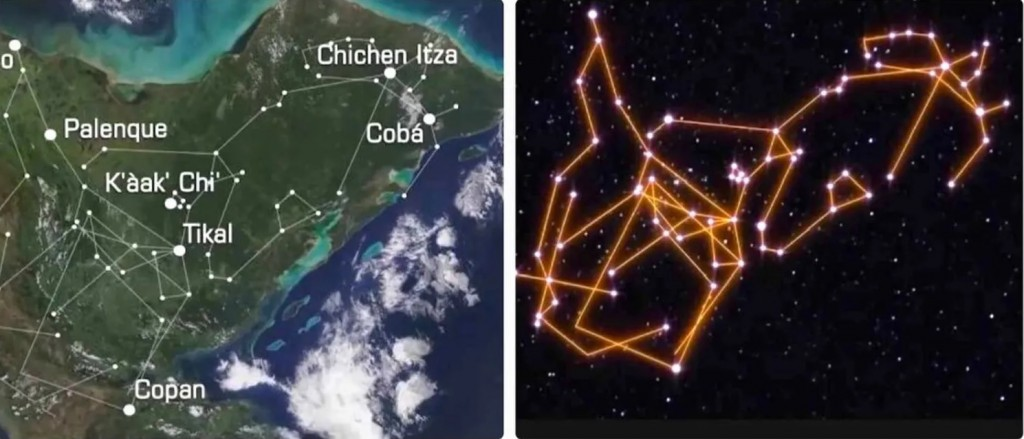 ¿Realmente las ciudades mayas estaban alineadas con las constelaciones?