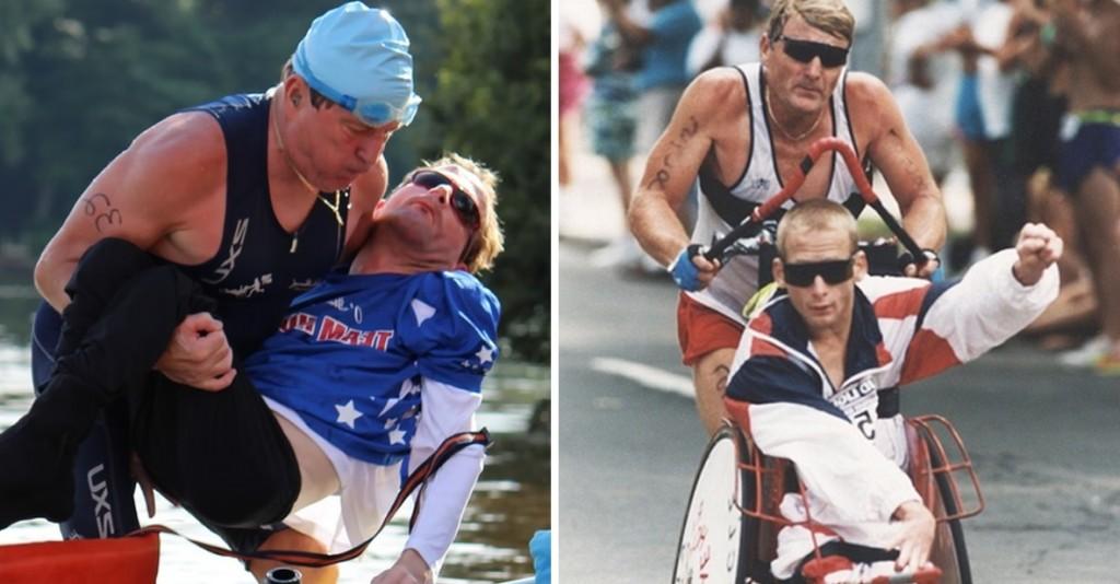 Murió el padre ícono del maratón de Boston: Corrió más de 1.000 carreras con su hijo cuadripléjico