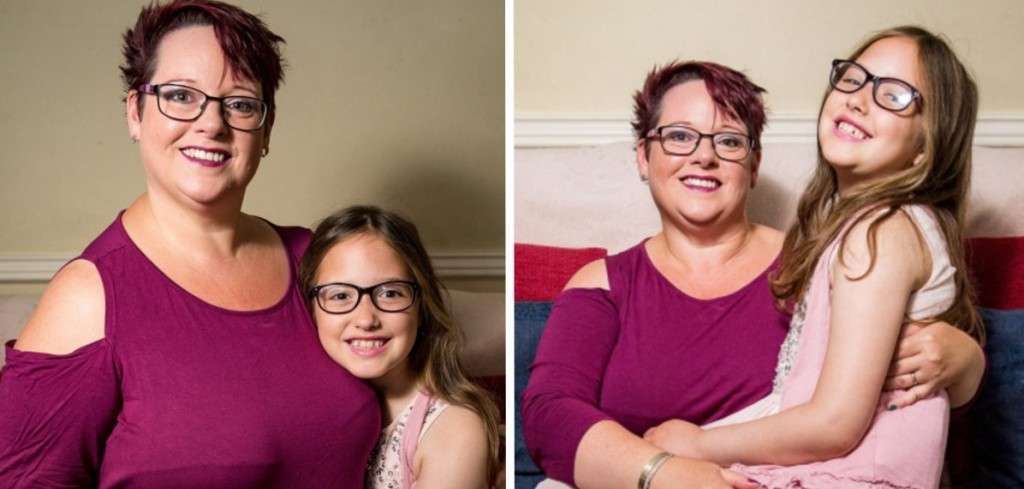 Una madre amamantó a su hija hasta los 9 años