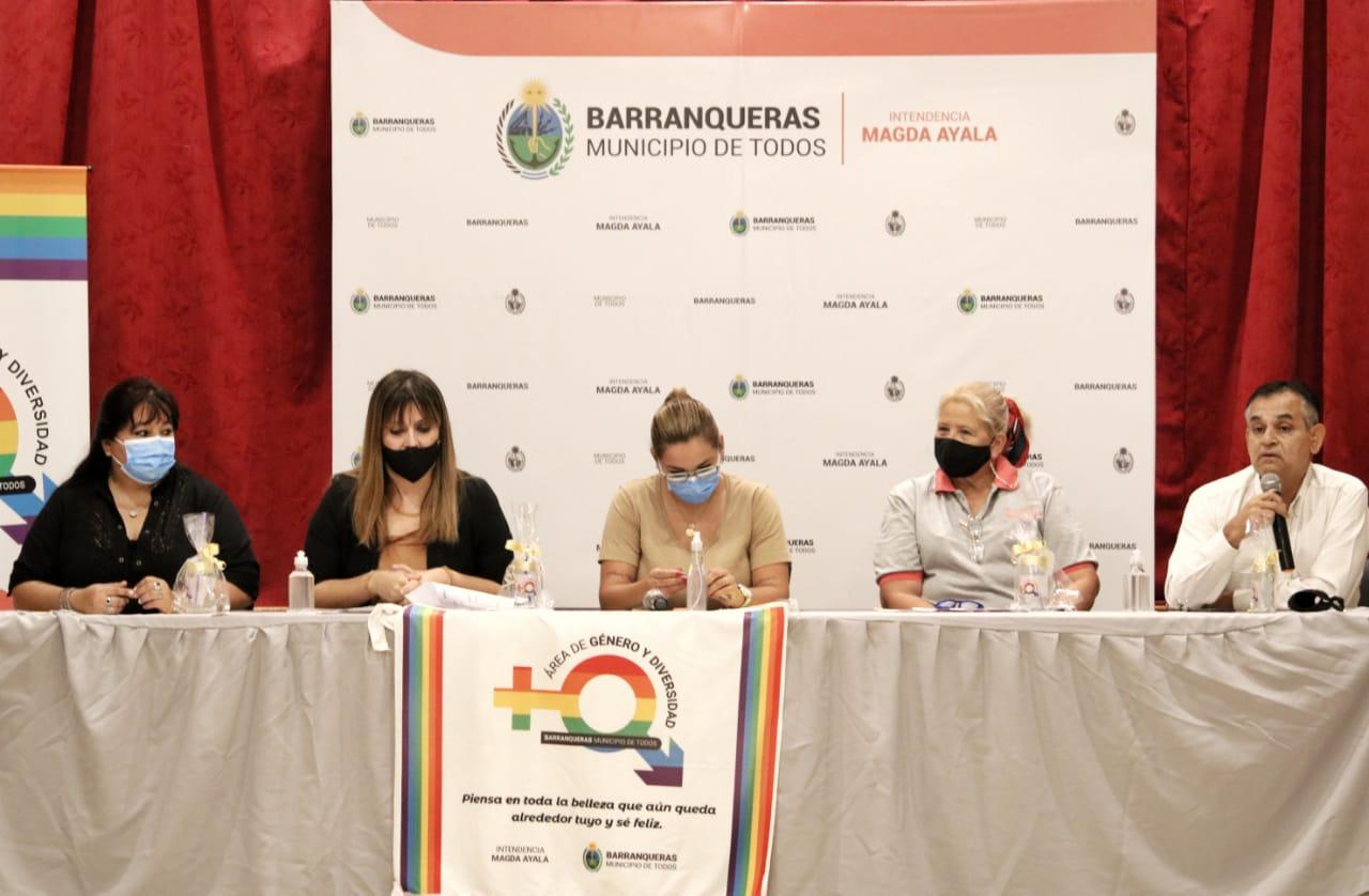 Barranqueras: presentaron la Mesa Consultiva de Género y Diversidad