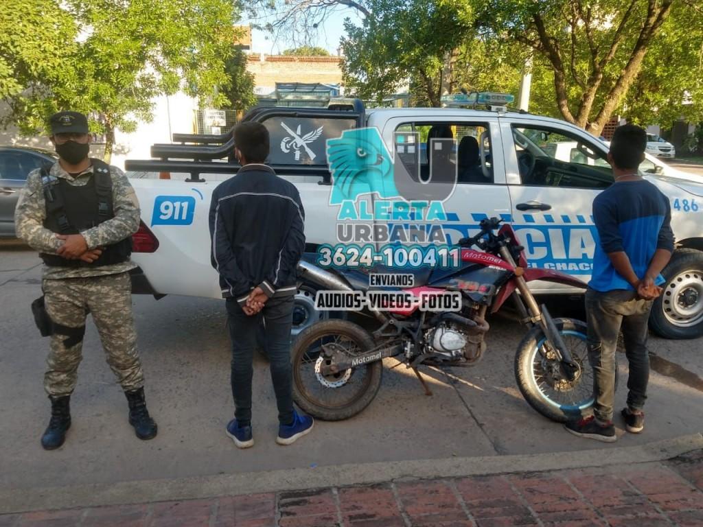 Intervenciones a toda hora en distintos puntos de la ciudad dejan como saldo el recupero de motos y capturas varias