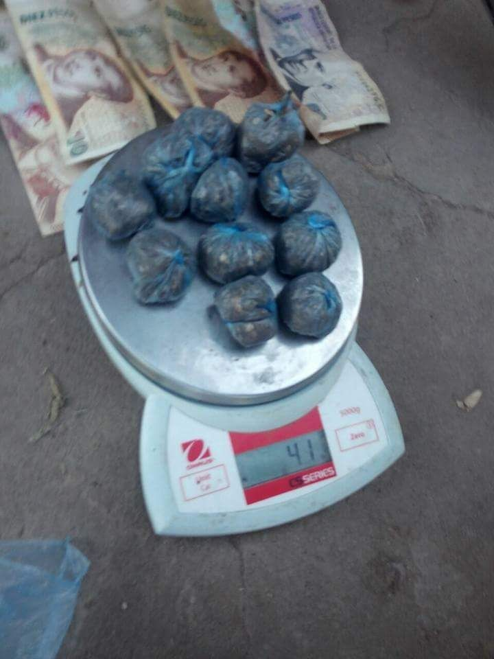 Quitilipi: Droga en Bº San Cayetano