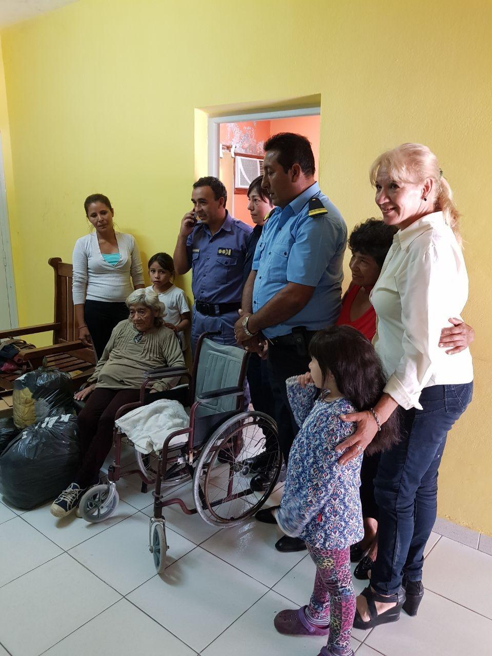 Gesto Solidario en Sáenz Peña